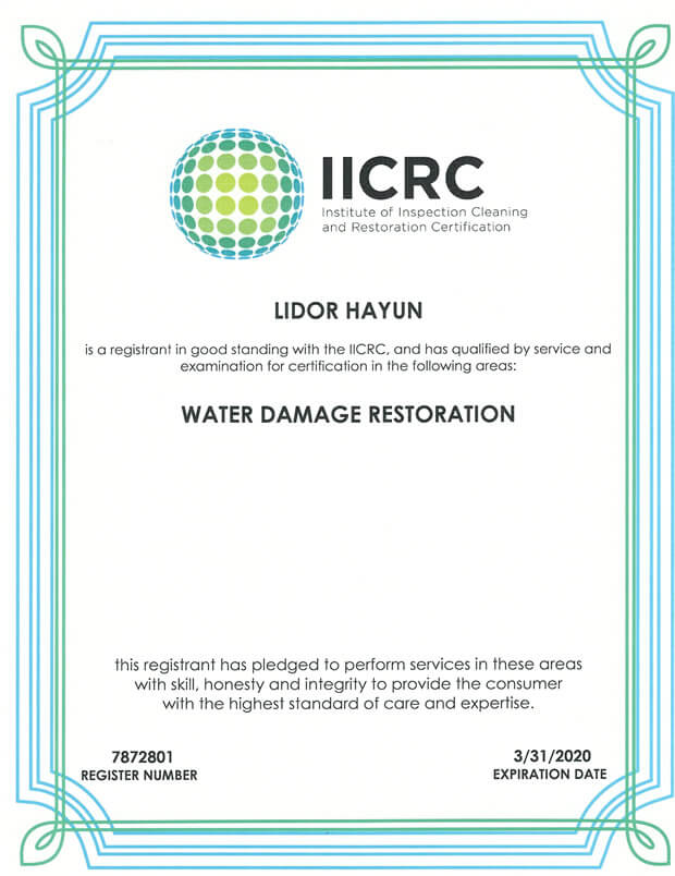 Lidor-IICRC